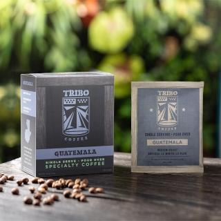 【TRIBO COFFEE】瓜地馬拉 安提瓜花神 精品濾掛式咖啡/ 掛耳包(11g x 5包)