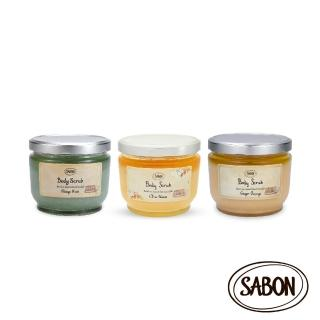 【SABON】身體磨砂膏600g(香味任選)