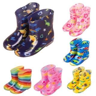 【Baby 童衣】兒童雨鞋防水雨靴 88153(共四色)