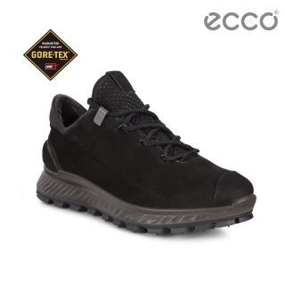 【ecco】EXOSTRIKE 突破極限低筒運動戶外靴 女(黑 83246301001)