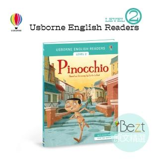 【iBezt】Pinocchio(Usborne雙發音分級讀本初級 Level 2)