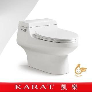 【KARAT凱樂】月石 單體馬桶(省水馬桶/靜音馬桶/低水箱馬桶/金級省水)