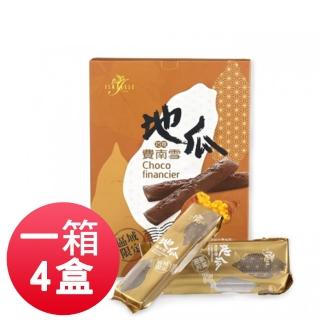 【ISABELLE 伊莎貝爾】地瓜費南雪/6入 巧克力(4盒裝)