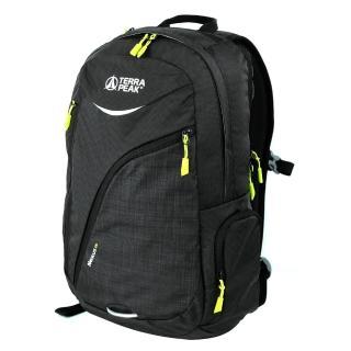 【英國TERRA PEAK】都市休旅背包-Nexus 22(髮絲紋黑)