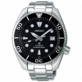 【SEIKO 精工】Prospex 黑水鬼相撲廣告款潛水機械錶-黑/45mm(SPB101J1/6R35-00A0D)