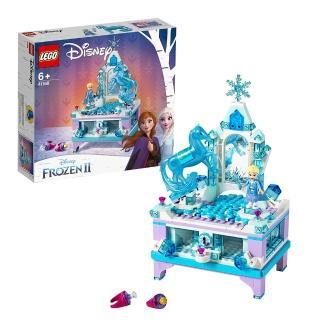 "【LEGO 樂高】迪士尼公主系列 Elsa""s Jewelry Box Creation 41168 積木 公主(41168)"