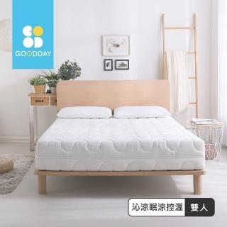 【GOODDAY】沁涼眠-五段式乳膠獨立筒床墊(雙人-150x186cm)