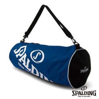 【SPALDING】三顆裝簡易球袋(寶藍)