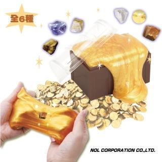 【日本NOL】挖掘寶石水黏土-共6款 採隨機出貨(療癒小物 放鬆舒壓 桌遊/禮物)