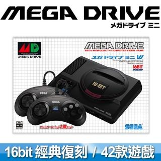 【SEGA 迷你復刻】Mega Drive Mini 主機(收錄42款經典名作 台灣公司貨)