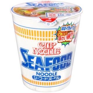 【NISSIN 日清】中杯麵-海鮮(75g)