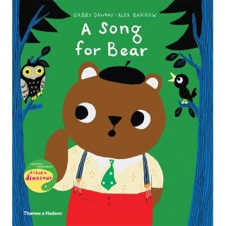 【Song Baby】A Song For Bear 小熊學唱歌(精裝繪本)