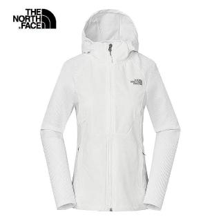 【The North Face】The North Face北面女款白色防潑水透氣外套 3RL6FN4