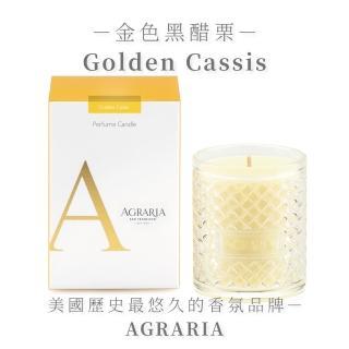 【AGRARIA美國天然香氛】金色黑醋栗香氛大蠟燭198g(香氛蠟燭 大豆蠟燭)