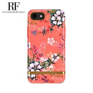 【Richmond&Finch】瑞典手機殼 金線框 -夢幻珊瑚花(iPhone 6s/7/8/SE 2020 4.7吋)