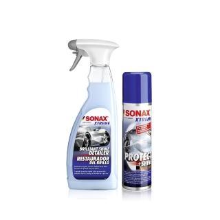 【SONAX】鍍膜美容組 大容量包裝(極致鍍膜+超撥水鍍膜750ml)