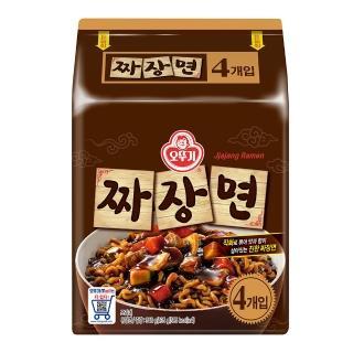 【韓國不倒翁OTTOGI】特級炸醬麵(135公克 x 4入)
