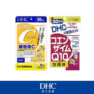 【DHC】美容必備組(維他命C 30日份+輔酉每Q10 30日份)