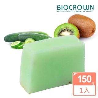 【BIOCROWN 百匡】淨化系列-奇異果黃瓜保濕香氛美膚皂(150g)