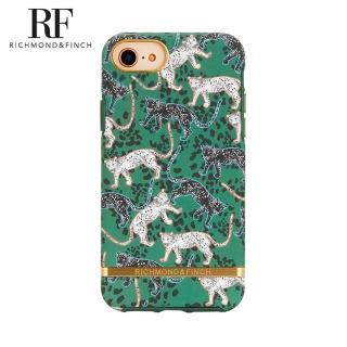 【Richmond&Finch】瑞典手機殼 金線框 -叢林美洲豹(iPhone 6s/7/8/SE 2020 4.7吋)