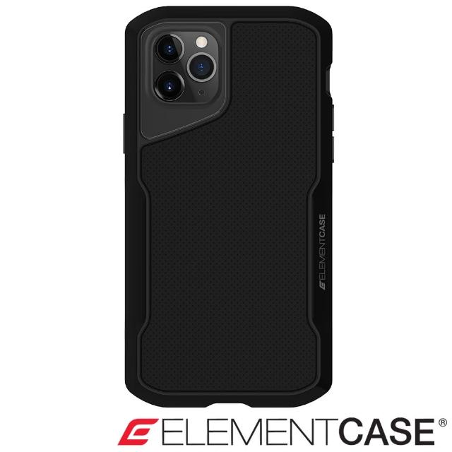 【Element Case】iPhone 11 Pro Max Shadow(流線手感軍規殼 - 醇黑)
