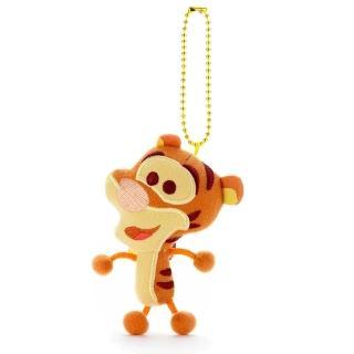 【Disney 迪士尼】Disney Toy Company 擦擦吊飾 跳跳虎(人偶 吊飾)