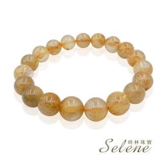 【Selene】尊貴晶透鈦晶手珠(水晶之王 10-11mm)