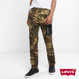 【LEVIS】男款 上寬下窄 / 迷彩彈性工作褲 / 多口袋機能 / 3M反光邊條 / 吸濕排汗機能