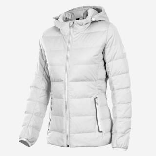【adidas 愛迪達】Adidas ET D90 STRC JKT    女款 休閒 短版 合身 輕量 保暖 羽絨 外套 白(AY4068)