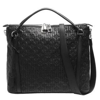 【Louis Vuitton 路易威登】M97071 Antheia系列Ixia PM Monogram刺繡羊皮手提肩背包(黑色-限量絕版品)