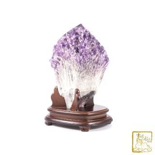 【吉祥水晶】雅典娜骨幹紫水晶 7.27kg(改善磁場)