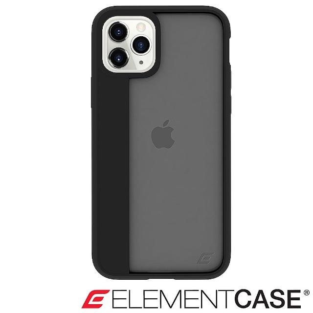【Element Case】iPhone 11 Pro Max Illusion(輕薄幻影軍規殼 - 酷黑)