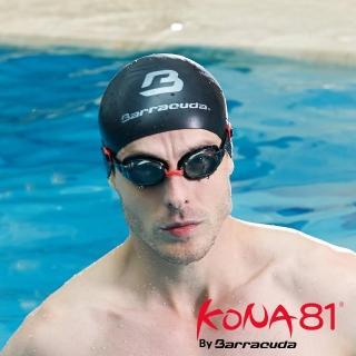 【Barracuda 巴洛酷達】KONA81三鐵度數泳鏡K713
