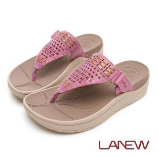 【La new】Fun鬆系列 Bio DCS  編織風格配色夾腳拖鞋(女51250802)