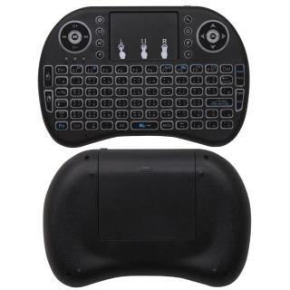 【IS 愛思】UFO-2 七彩背光鍵盤遙控滑鼠(電視盒可用)