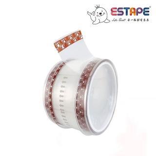 【ESTAPE】抽取式OPP封口透明膠帶|貓爪(36mm