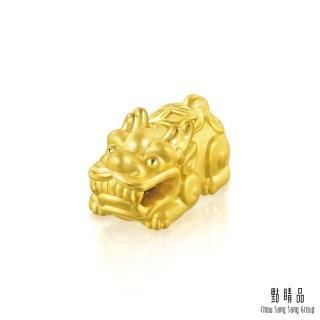【點睛品】招財貔貅 黃金吊墜