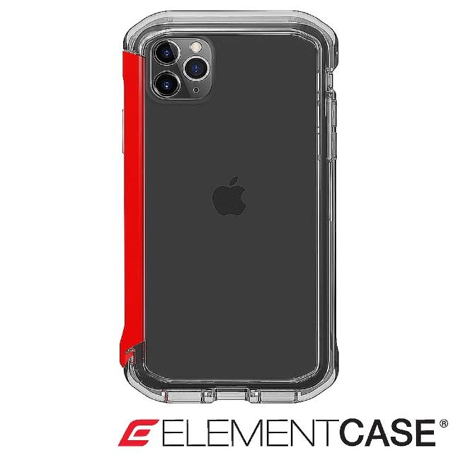 【Element Case】iPhone 11 Pro Rail(神盾軍規殼 - 晶透紅)