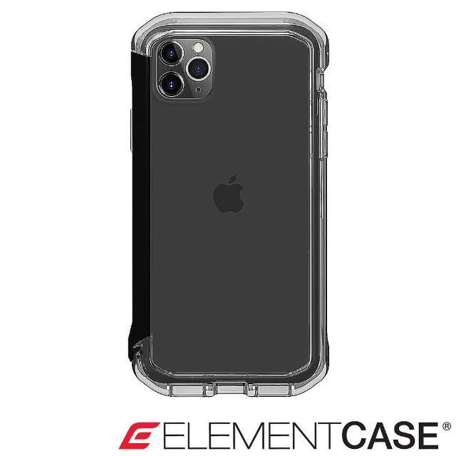 【Element Case】iPhone 11 Pro Max Rail(神盾軍規殼 - 晶透黑)