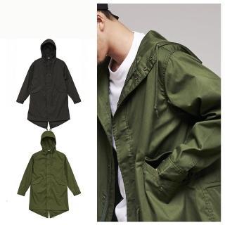 【United Athle】United Athle軍裝長版風衣M51 日系潮流(軍裝M51長版風衣)