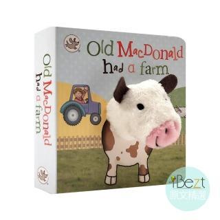 【iBezt】Old Macdonald Had a Farm(Little Learners Finger Puppet Book)