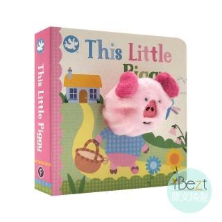 【iBezt】This Little Piggy(Little Learners Finger Puppet Book)