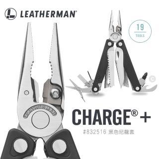 【Leatherman】Charge Plus 工具鉗832516(黑尼龍套 附Bit組)