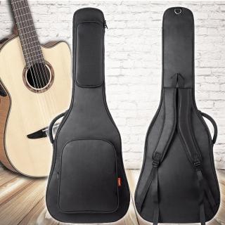 【美佳音樂】jinchuan 36吋 防水/厚棉/雙肩背帶 高級旅行吉他袋(吉他包)
