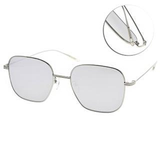 【PAUL HUEMAN】韓系質感方框款眼鏡(銀-淺白水銀#PHS918A 02)