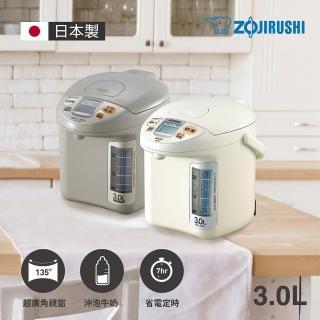 【ZOJIRUSHI 象印】日本製 3公升寬廣視窗微電腦電動熱水瓶(CD-LGF30)