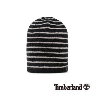 【Timberland】男款黑白條紋雙面毛帽(A1ESX001)
