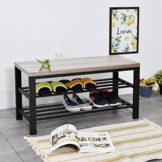 【凱堡】淺木紋穿鞋椅(換鞋凳/穿鞋凳/玄關)