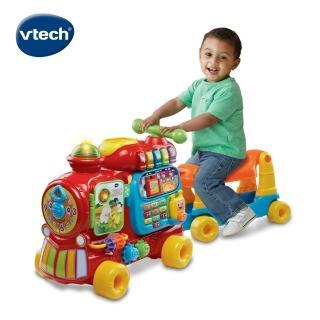 【Vtech】4合1智慧積木學習車(高cp值必買互動學習玩具)