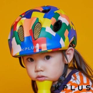 【KPLUS】兒童/青少年休閒運動安全帽 PUZZLE彩色版Creator-積木藍(童車 滑步車 滑板車 淑女車)